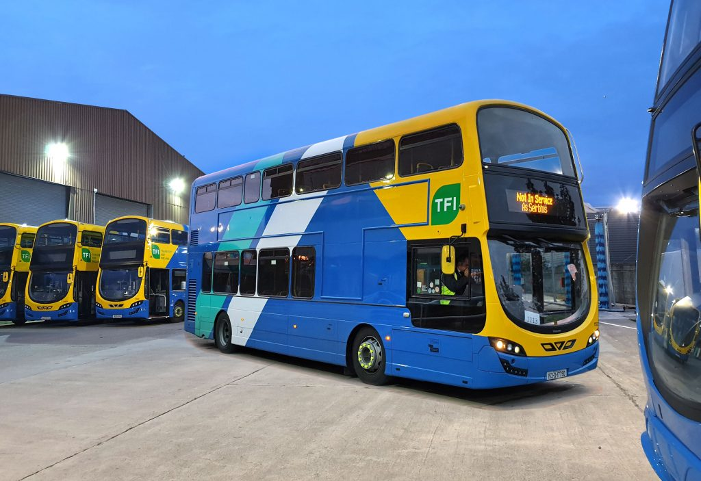 Buses in Go Ahead Ireland livery