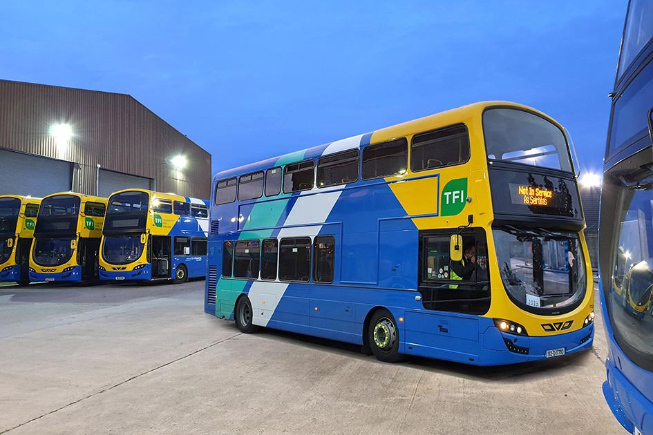 Go-Ahead Ireland double decker bus
